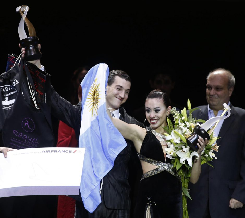 Pasauliniame tango konkurse karaliavo argentiniečiai