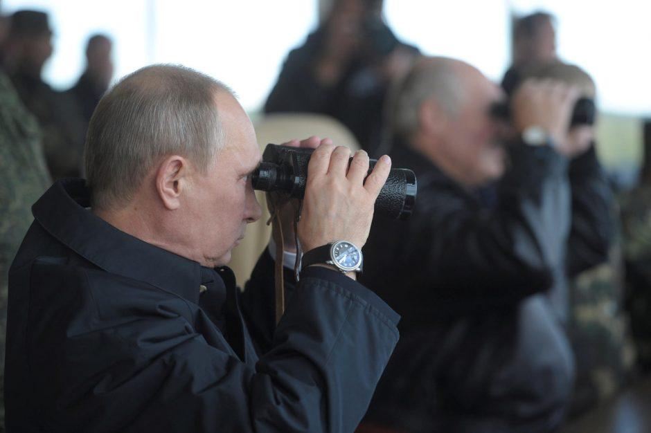 """Kada vyks Rusijos ir Baltarusijos karinės pratybos """"Zapad 2017""""?"""
