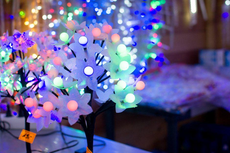 Prekybos miestelyje jau kvepia Kalėdomis