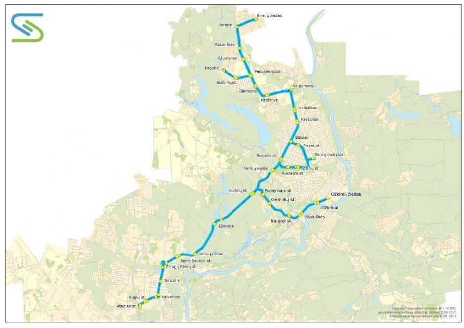 Nuo rugsėjo 1 dienos keisis viešojo transporto tvarkaraščiai (schemos)