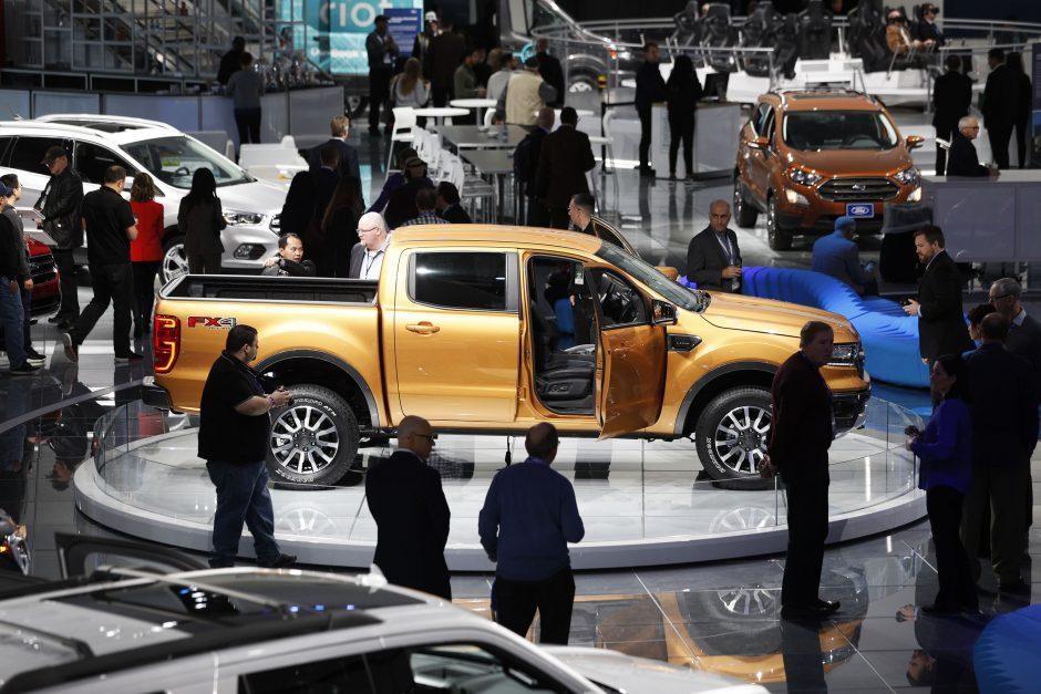 Automobilių paroda Detroite