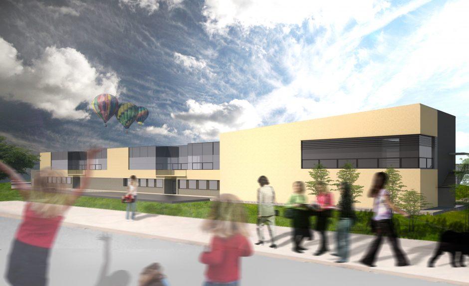 Vilniuje pradedamas statyti naujas vaikų darželis (atnaujinta)