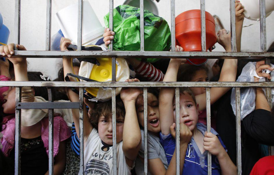Palestiniečių lyderiai balsuos dėl derybų su Izraeliu