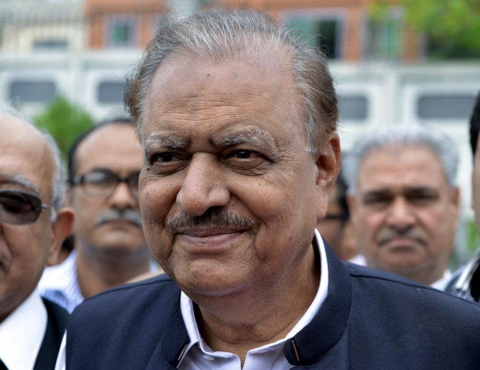 Pakistano prezidentu išrinktas Mamnoonas Hussainas (papildyta)
