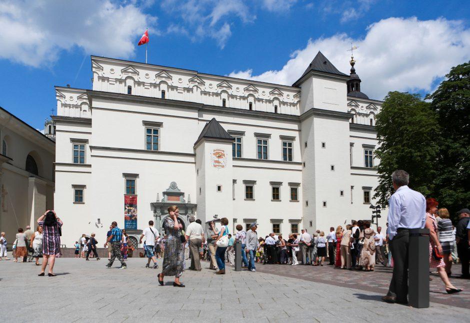 Kultūros ministras: Valdovų rūmų statyboms tęsti reikėtų bent 6 mln. litų (papildyta)
