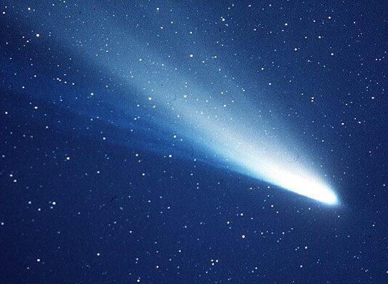 Pasaulio pabaigą, mirtis bei negandas nešusi Halio kometa netgi buvo atskirta nuo bažnyčios
