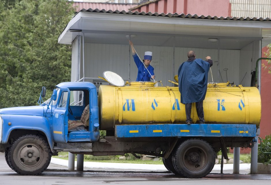 Rusija prieš Baltarusiją: bręsta naujas pieno karas