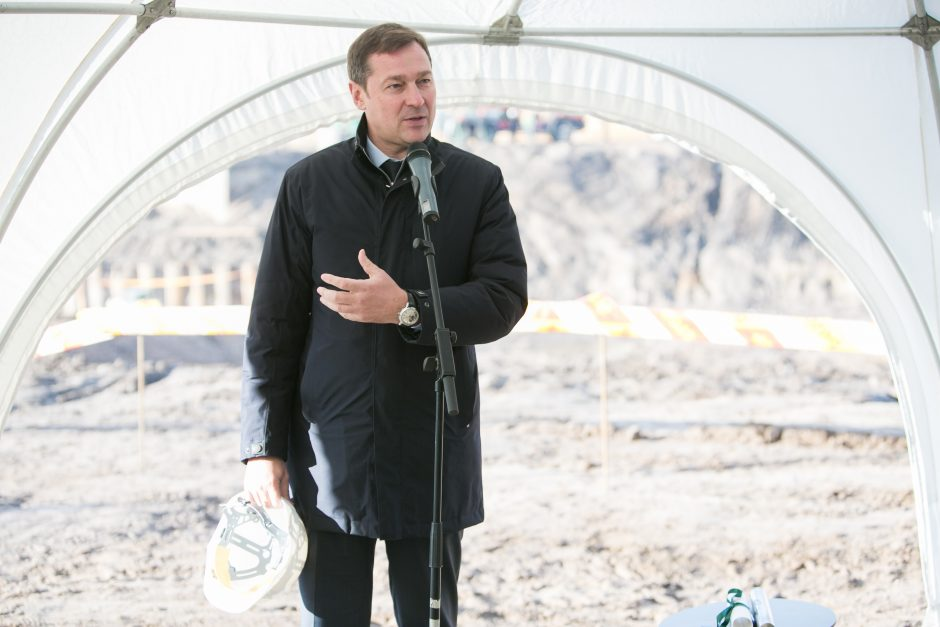 Ir Vilniaus meras jau ruošiasi Kalėdoms