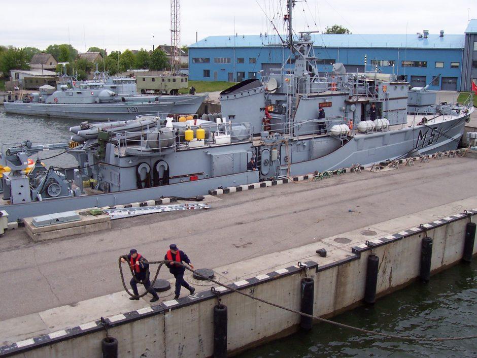 Klaipėdoje ieškoma krantinės kariniam laivui