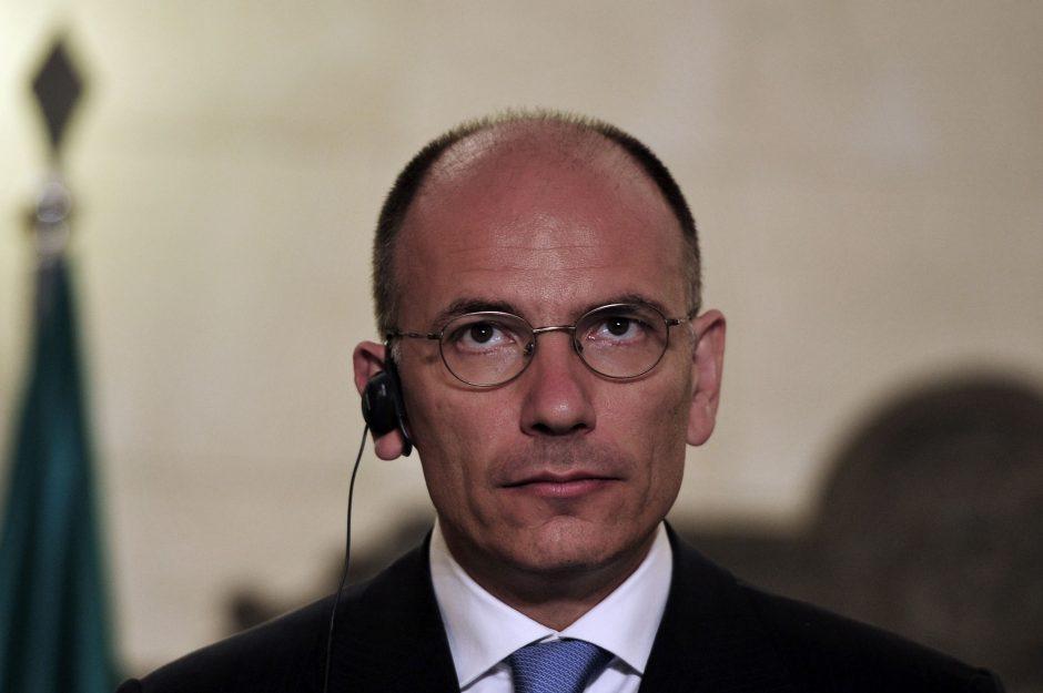 Italijos premjeras: ES nesėkmė sprendžiant krizę padrąsintų euroskeptikus