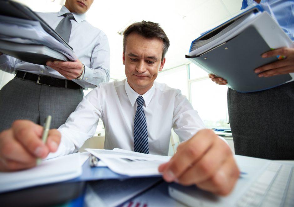 Pareigingi darbuotojai rizikuoja susirgti depresija