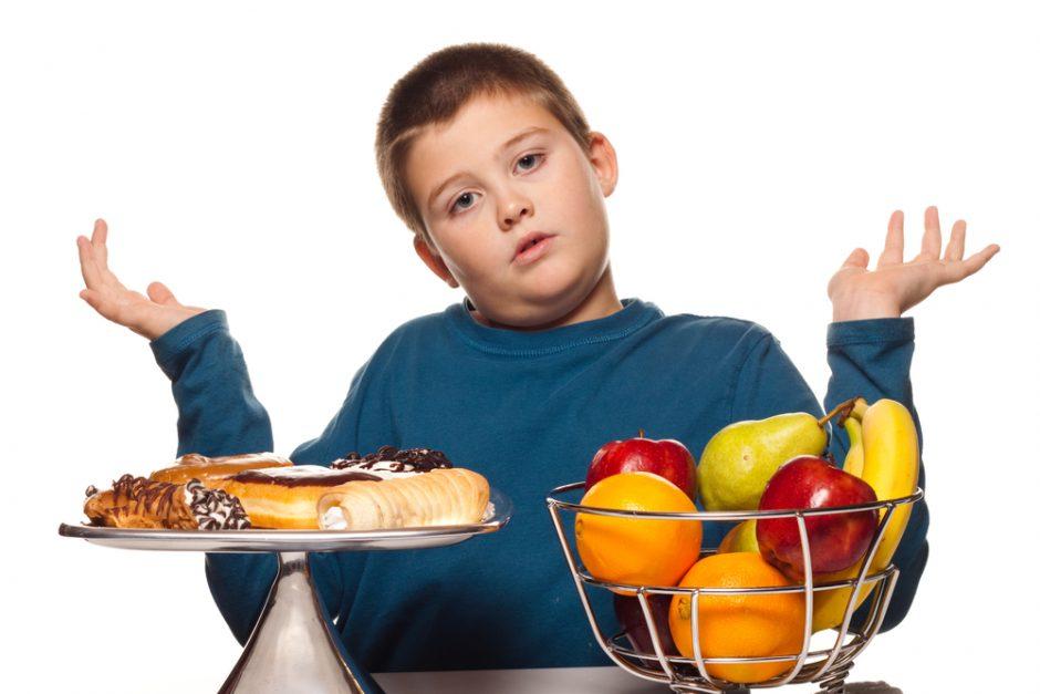 Geriausi sveikos mitybos mokytojai – vaikai