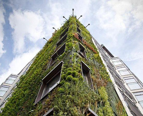 Londoną nuo potvynių tikimasi apsaugoti vertikaliu sodu