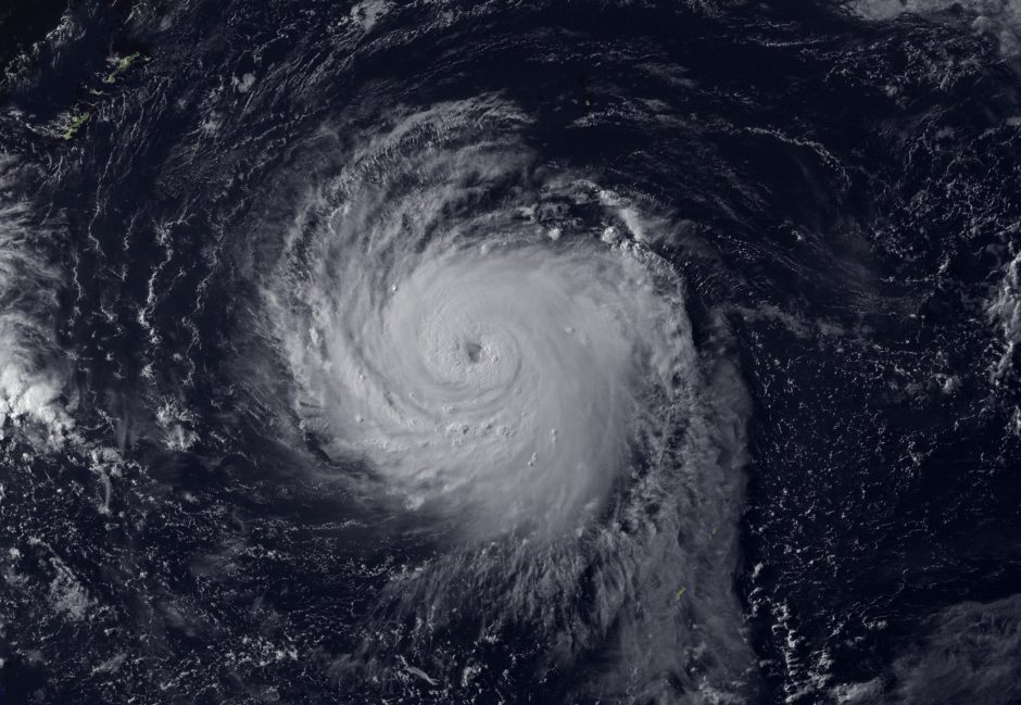 Taivane dėl artėjančio supertaifūno evakuota 2 tūkstančiai turistų