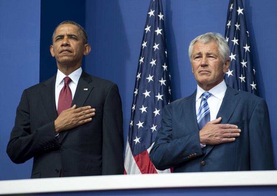 Ch. Hagelis: JAV dar gali sumažinti armiją