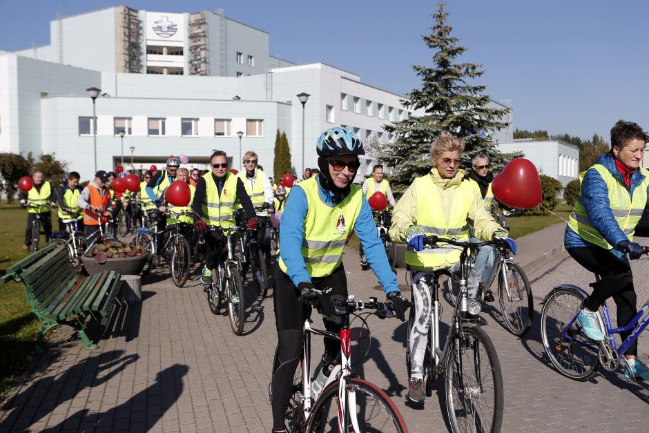 dviračių sportas ir širdies sveikata)