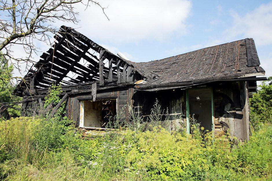 Per 7 dienas Lypkių kaime ugniagesiai gesino net tris gaisrus