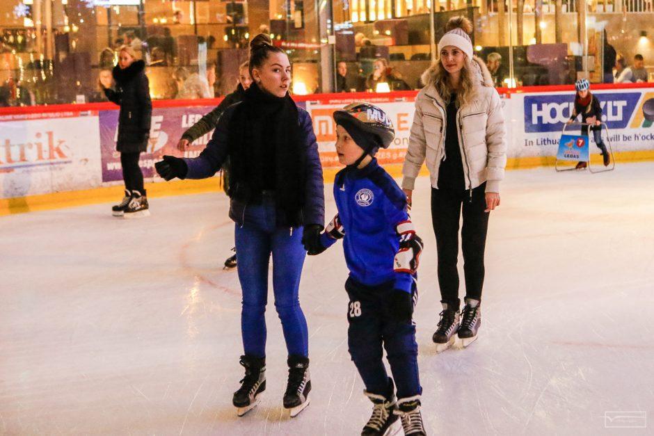 Klaipėdiečius suvienijo žiemos sportas