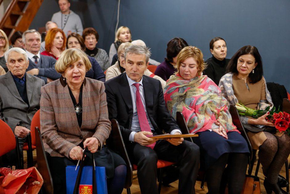 I.Simonaitytės premija Sigitui Poškui