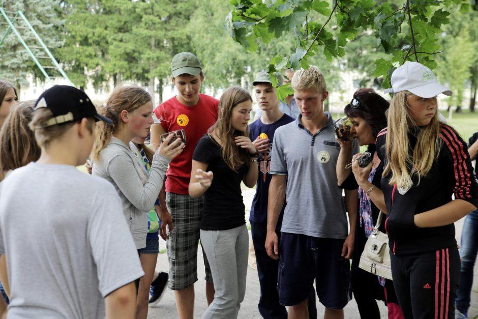 Butigeidžio dragūnų batalione – vaikų stovykla