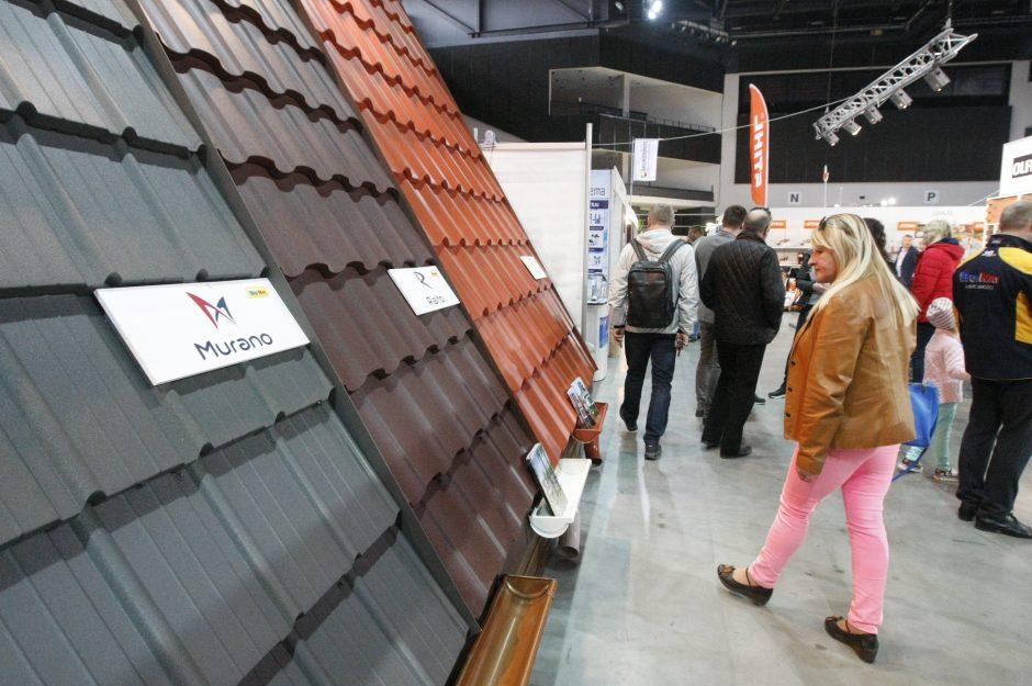 Klaipėdiečiai domisi statybų sektoriaus naujovėmis