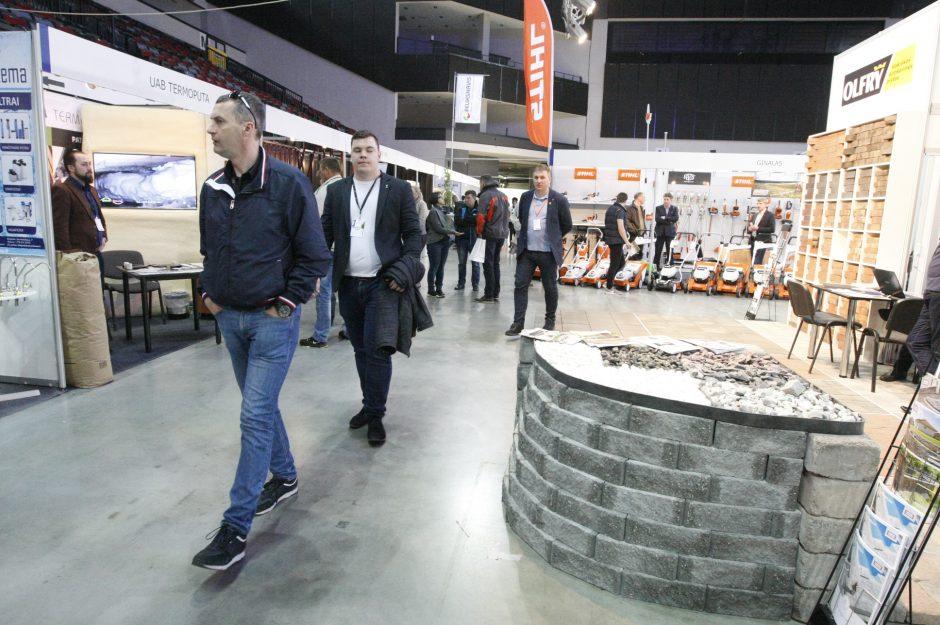 Klaipėdiečiai domisi statybos sektoriaus naujovėmis
