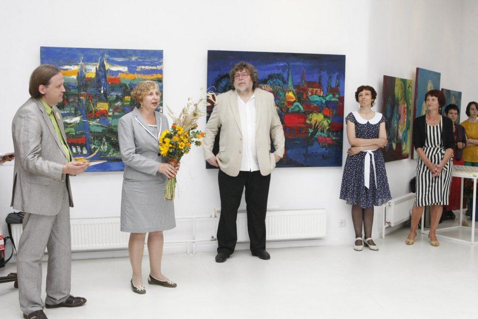 Jubiliejinė Klaipėdos dailininkų paroda