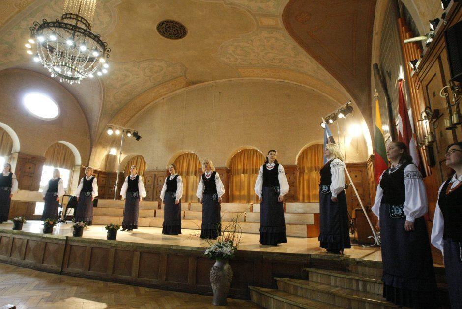 Klaipėdoje aidėjo trijų valstybių moterų chorų balsai