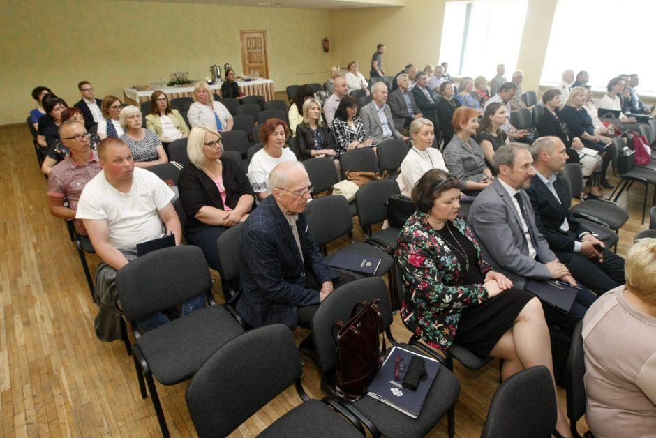 Respublikinėje konferencijoje – apie profesinio mokymo naujoves