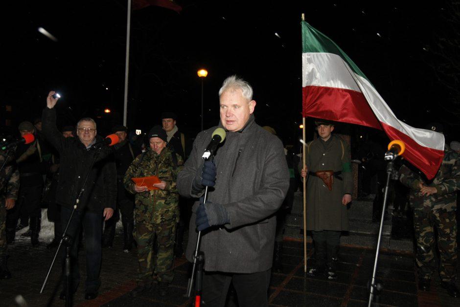 """Naktinis žygis """"Klaipėdos sukilėlių keliais"""""""