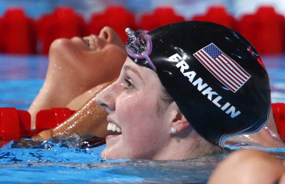 Plaukikė M. Franklin: darau tai, ką myliu!
