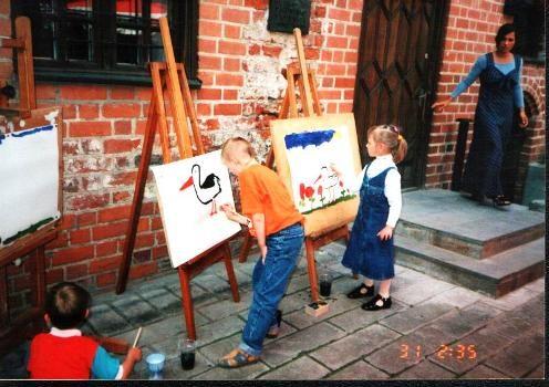 Senamiestis pakvies į tapybos pamokas