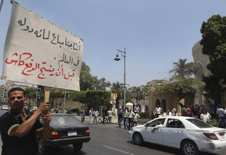 Į Egiptą lietuviai vyksta ir per neramumus