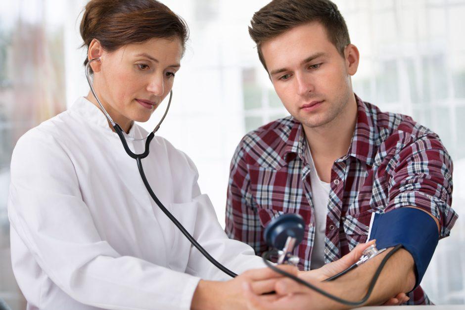 Koks kraujo spaudimas nekenkia sveikatai?