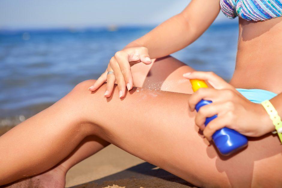 Kodėl skauda saulėje nudegusią odą?