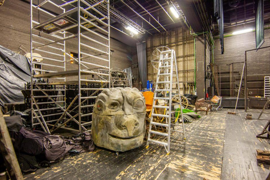 Prasideda Nacionalinio dramos teatro rekonstrukcija