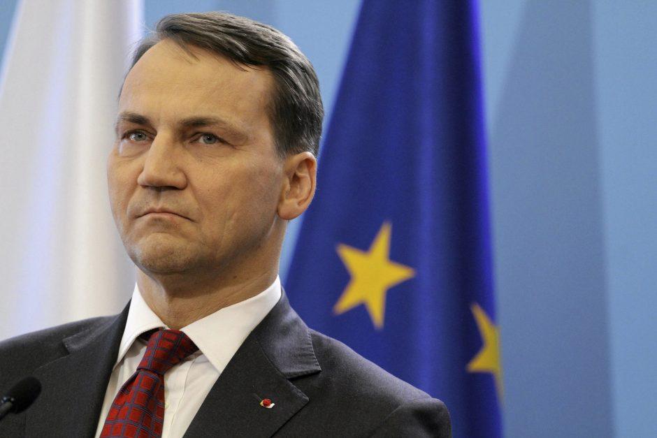 Šokiruojantys ministro R. Sikorskio pokalbiai: noriu paauklėti sukčius lietuvius