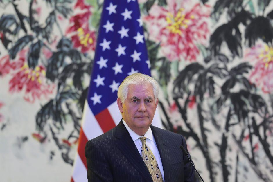 Baltijos šalių ministrai susitiks su JAV valstybės sekretoriumi