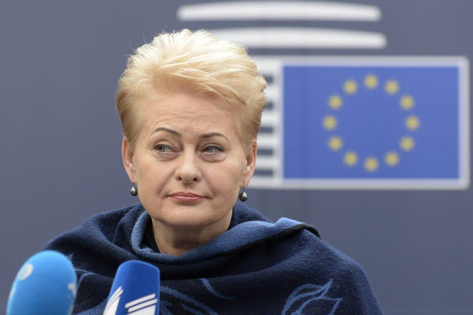 """D. Grybauskaitė: pratyboms """"Zapad"""" esame pasirengę geriau nei bet kada"""