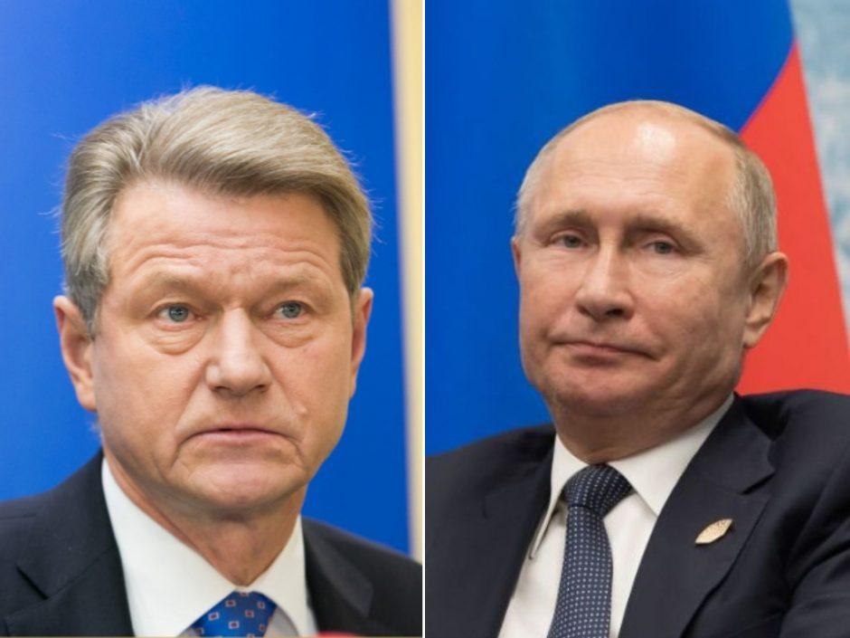 R. Paksas susitikimą su V. Putinu laiko išskirtine garbe