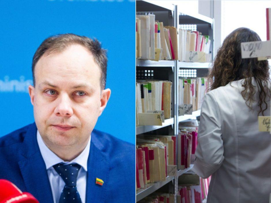 A. Veryga žada: nuo Naujųjų trumpės eilės pas gydytojus