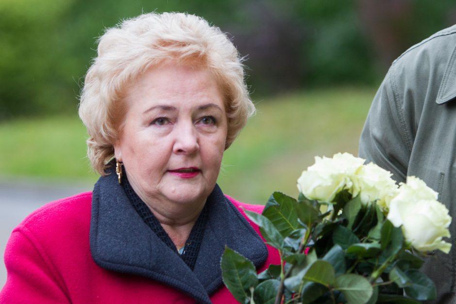 K. Brazauskienė prašo Vyriausybės suteikti jai nemokamą būstą