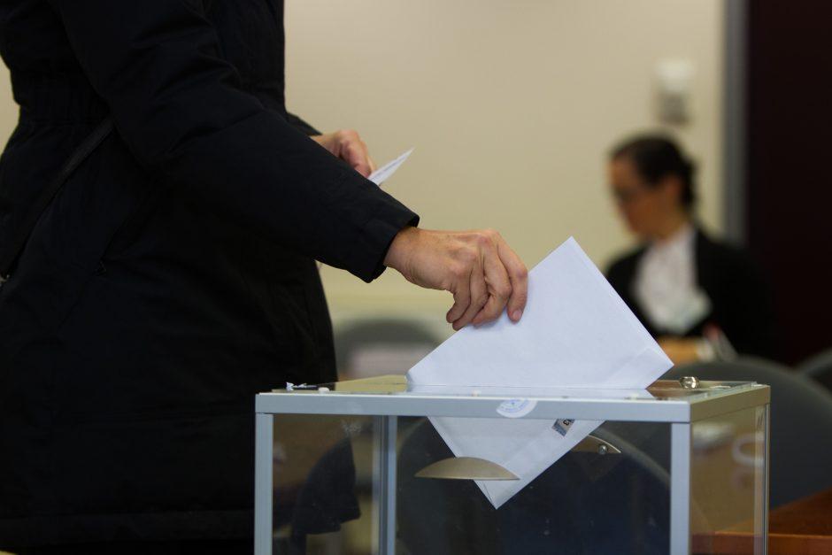 Marijampolės mero rinkimuose iš anksto balsavo 2,21 proc. rinkėjų