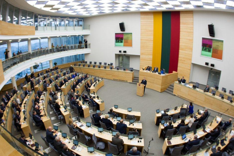 Lietuvos centro partija peržengia 5 proc. barjerą