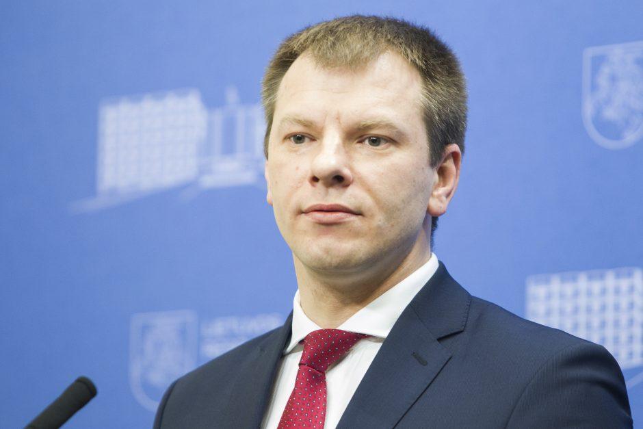 """Finansų ministras tikisi, kad Seimas patvirtins """"reformų biudžetą"""""""