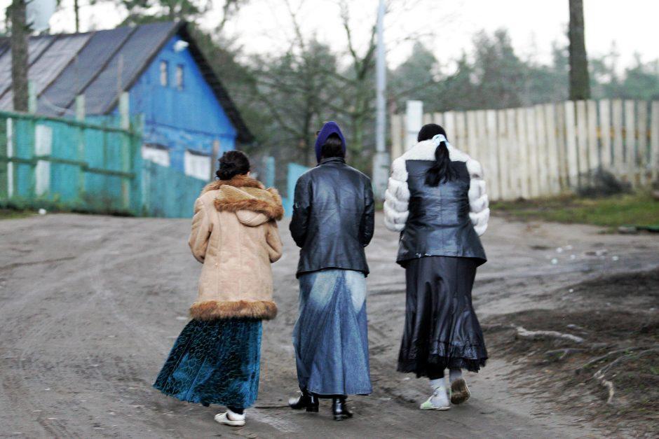 Netoli čigonų taboro įkliuvo porelė su narkotikais