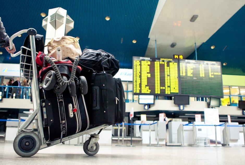 Lietuvos oro uostuose augo ir keleivių, ir skrydžių skaičius