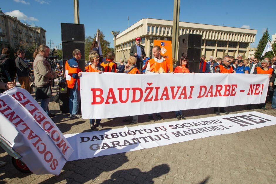 Premjeras: Seimas turėtų atmesti prezidentės veto Darbo kodeksui
