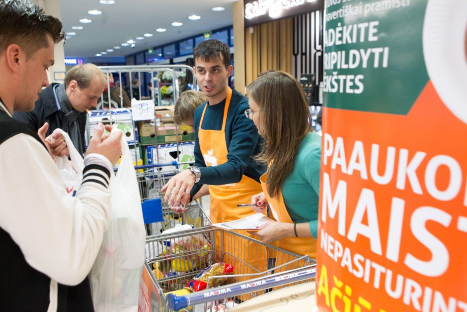 """""""Maisto bankui"""" aukoti produktus bus galima ir internetu"""