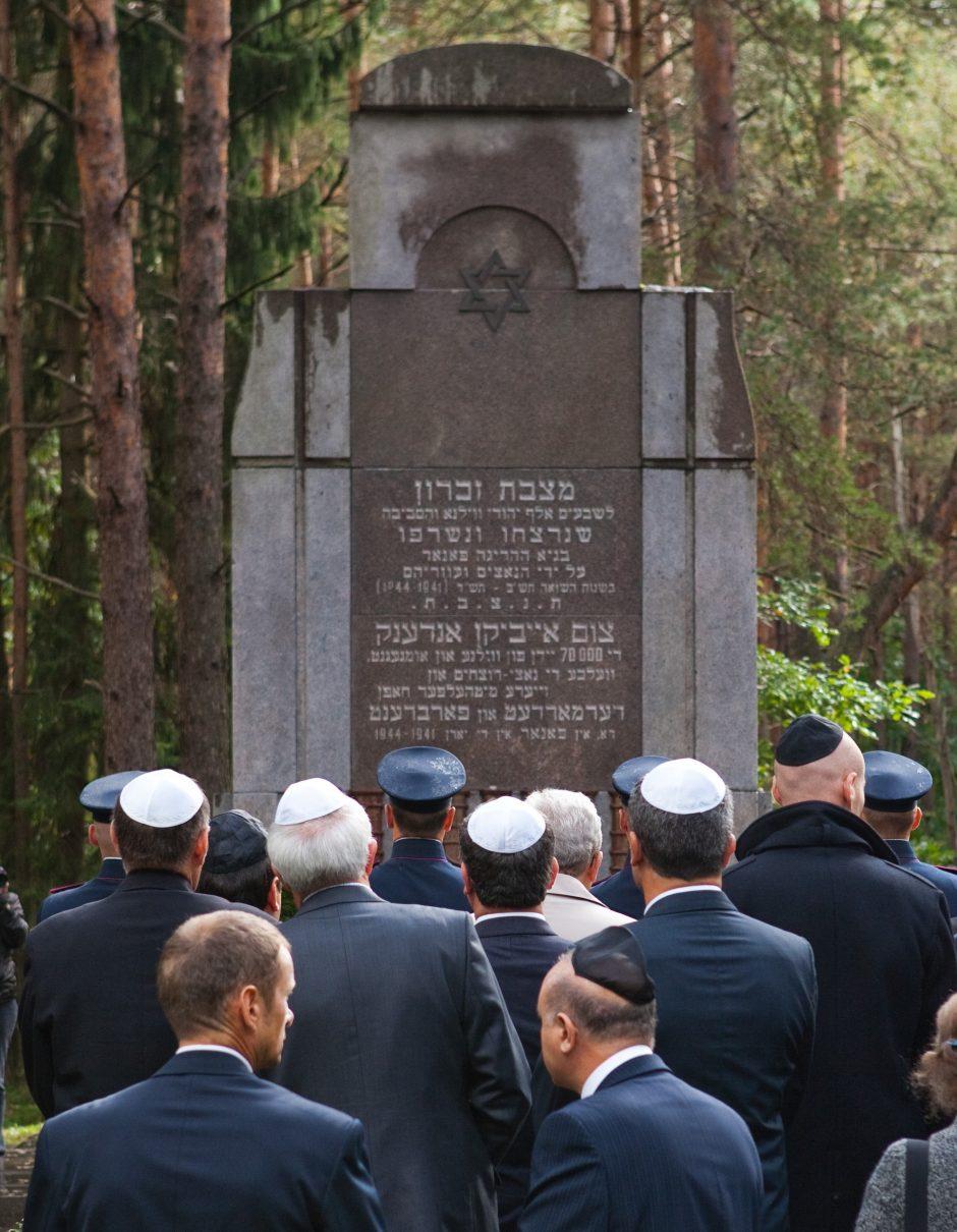 S. Skvernelis išsakė nuomonę dėl požiūrio į lietuvių vaidmenį per Holokaustą